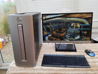 HP ENVY 750 Gaming PC iPS Monitor Swap a Payg Note 8