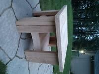 Reclaimed lumber End Tables