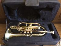 Cornet (Elkhart) with case