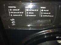 Black 9kg Hotpoint Washing Machine