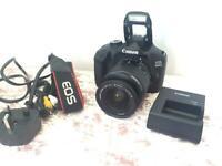 Canon eos 4000D camera like new