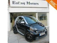2014 SMART FORTWO GRANDSTYLE TURBO 84BHP,AUTO,LOW MILE,SATNAV,LEATHER,BLUETOOTH,FULL HISTORY,PANROOF