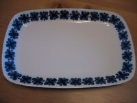 "Rorstrand (Sweden) ""Mon Amie"" Large Serving Platter"