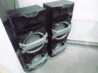 Panasonic set of 6 speakers including 4 x Super Woofers