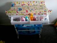 Baby Changing & Bath Unit