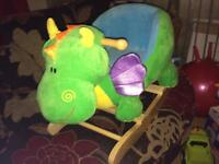 Dragon baby Rocker toys for kids