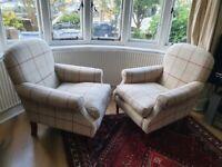 Laura Ashley Cambridge armchairs