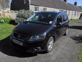 2014 SEAT ALHAMBRA 2.0Tdi SE LUX CR ECOMOTIVE, 7 SEATS, MEGA RARE MANUAL, FULL LEATHER, IMMACULATE