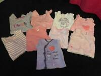 Bundle of sleepsuits age 6-9 months