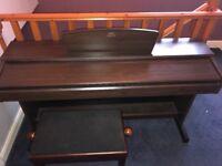 Yamaha Arius YDP-140 digital piano and piano stool very good condition hardly used