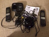 BT8500 call blocker phone kit twin handset