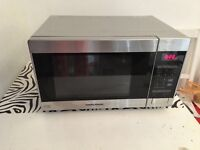 Morphy Richards second hand silver mircowave