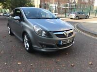 Vauxhall Corsa 1.4 Sri 3d grey colour , low mileage!!!!