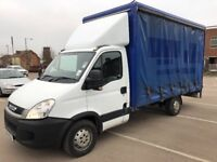 2011 Iveco Daily 3.5t LWB Curtain Sided van & Tail Lift NO VAT