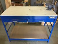 Draper work bench and Stanley vice for sale