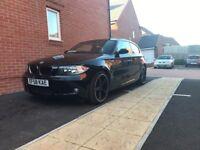 *New M.O.T & service*2009 BMW 1 series 118d m sport 2.0 diesel 69k i-drive sat nav heated seats