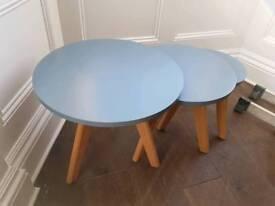 Nest of 3 Scandinavian Coffee/Side Tables