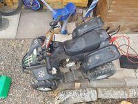 50cc quad bike lincon