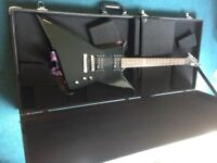 ESP Electric guitar EX-50 LTD in black