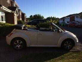 Volkswagen Beetle 1.6 Luna Cabriolet 2dr : Low Mileage, new MOT&Service