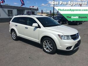 2015 Dodge Journey R/T * AWD * LEATHER *POWER ROOF * 7PASS