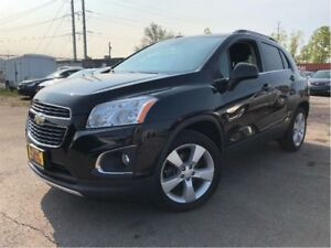 2014 Chevrolet Trax LTZ AWD SUNROOF LEATHER BACKUP CAMERA