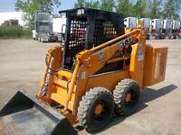 Raccoon skid steer loader