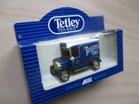 Die cast Ford Model T van in TETLEY TEA BAGS livery inc. box, great Christmas stocking filler!