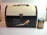 Attractive Domed Top Shoe / Storage Box - Tres Luxe