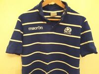 scotland polo shirt size L macron