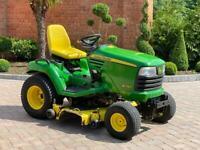 """John Deere X740 Ride on mower - 54"""" deck - lawnmower - Diesel - Kubota / Toro / Honda"""