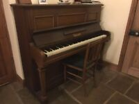 Piano - ideal for beginner, free to good home - buyer to collect
