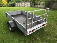 8' x 4' Galvanised metal trailer
