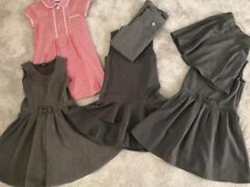 Girls school uniform
