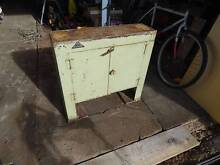 Metal lathe stand and cupboard Colonel Light Gardens Mitcham Area Preview