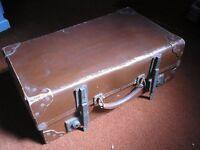 Vintage Leather Travel Case