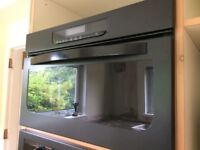DE DIETRICH DOV100BE1/1 BUILT IN STEAMER OVEN BLACK - very good condition