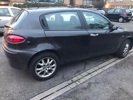 Alfa Romeo 147 1.9 Diesel Black 5 door