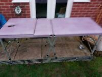 massage couch in very good condition