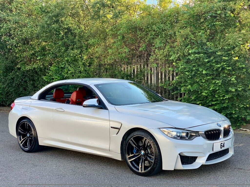 Bmw M4 Convertible Red Interior