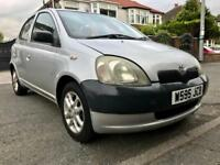TOYOTA YARIS 1.0-5DOORS,48000 GENUINE LOW MILES/FULL VOSA HISTORY,MOT JUNE 2019,TWO KEYS,HPI CLEAR