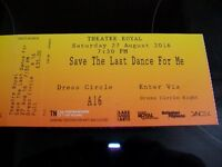 2 Save The Last Dance For Me Tickets