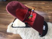 Baby bjorn bouncer with toy