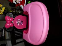 Minnie mouse space saver highchair