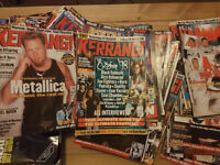 KERRANG MAGAZINE COLLECTION (84 MAGS) 1997-2002