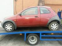 Ford ka 2002 Pepper red breaking for parts i