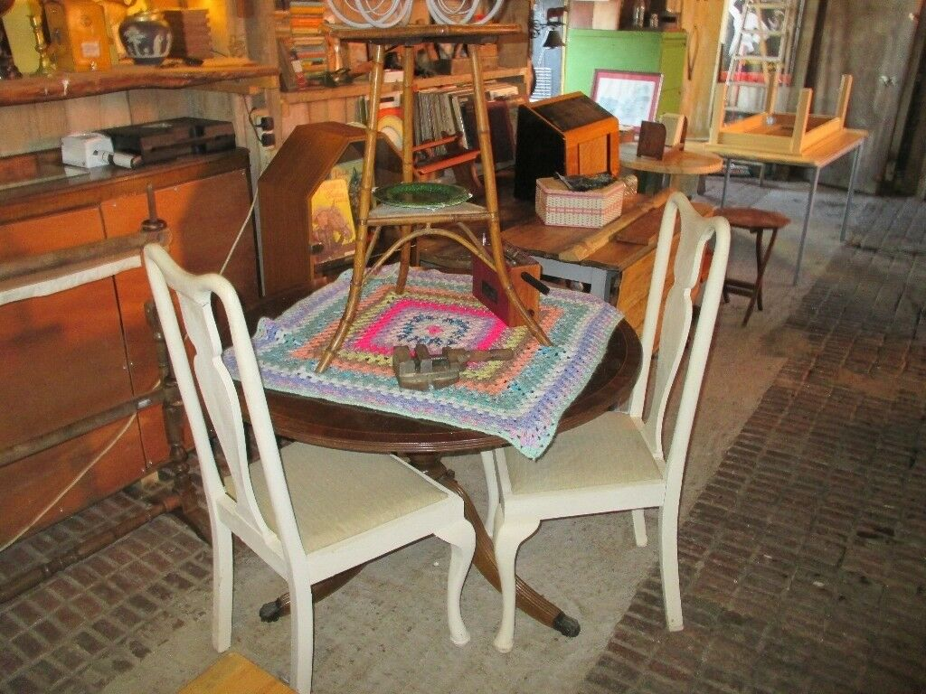 Painted Queen Anne Chairs