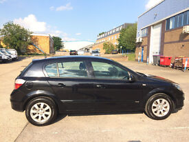 Black Vauxhall Astra 1.8 i 16v Club 5 doors *Available from 23rd August*