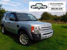 LAND ROVER DISCOVERY 3 AUTOMATIC, FULL LEATHER, 7 SEATE