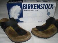 birkenstock size 4 (37) toe post worn once